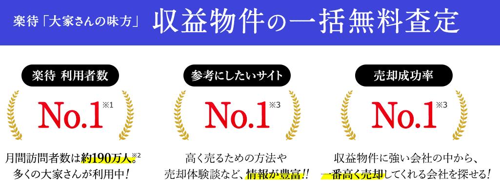 楽待サイト画面抜粋