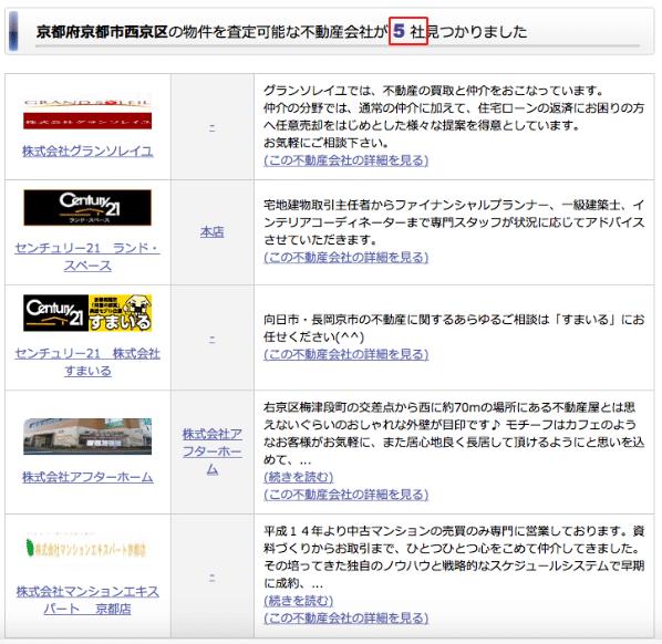 京都府京都市の検索結果