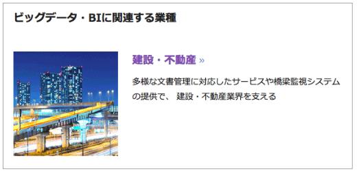 NTTデータは不動産事業にビッグデータを採用